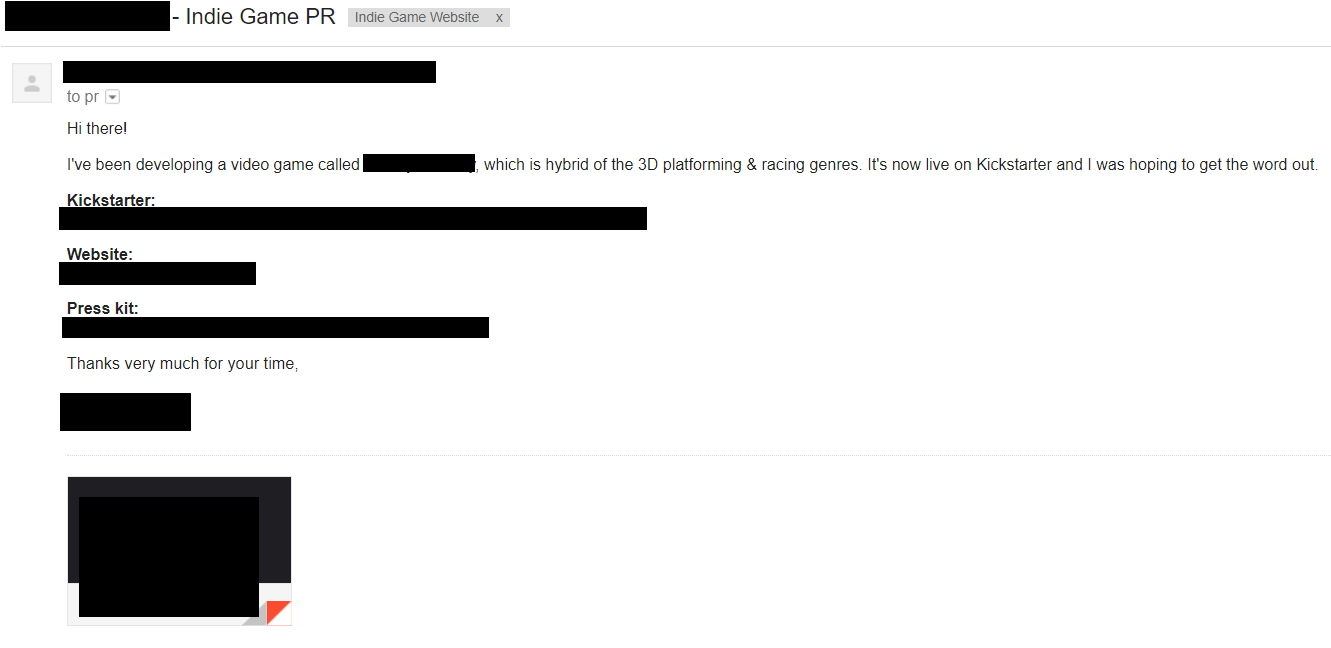 Dissecting indie game PR emails – what works, and what doesn